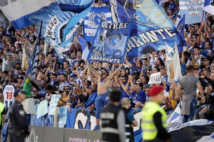Portimão, 13/04/2019 - O Portimonense Futebol SAD recebeu esta tarde no Portimão Estádio em Portimão