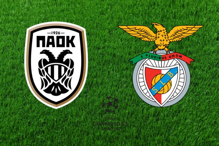 DIRETO | PAOK-Benfica