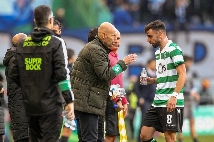 Bruno Fernandes defende Marcel Keizer e não o responsabiliza pelo mau período antes das recentes sete
