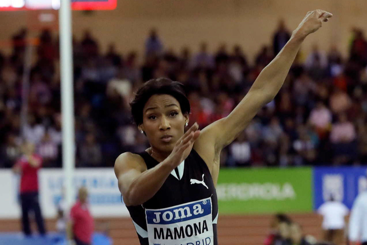 Patrícia Mamona bate recorde nacional do triplo salto por duas vezes