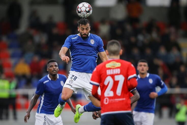 Tiago Mesquita esteve em 16 jogos na temporada 2019/20