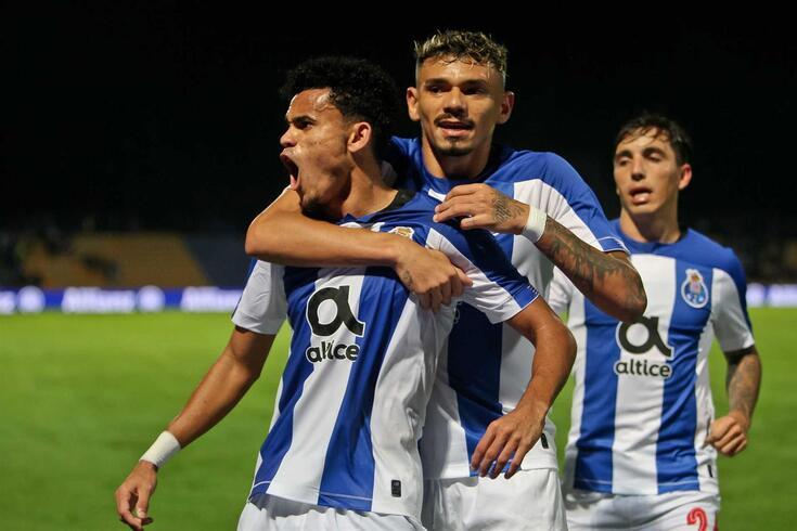 Luis Díaz e Soares marcaram no primeiro quarto de hora