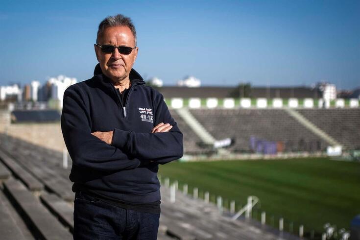 Faustino Mestre, presidente do Fabril