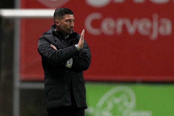 António Folha, treinador do Portimonense, falou depois da derrota em Braga.