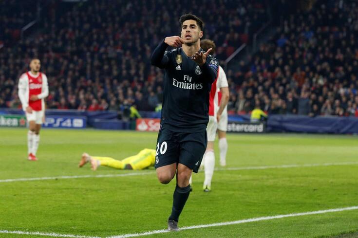 Asensio veio do banco para dar assim a vitória ao Real Madrid