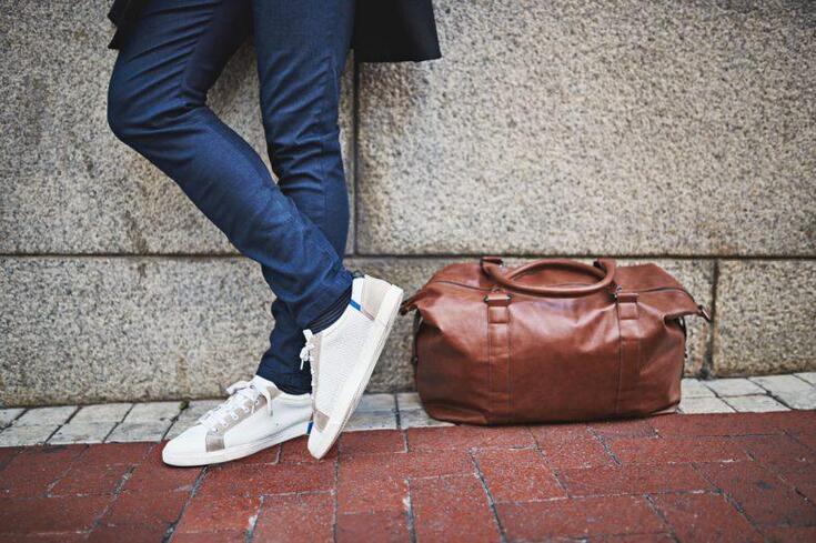 O método infalível para remover as rugas das sapatilhas