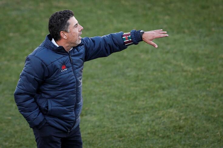 Rui Santos, treinador do Estrela da Amadora