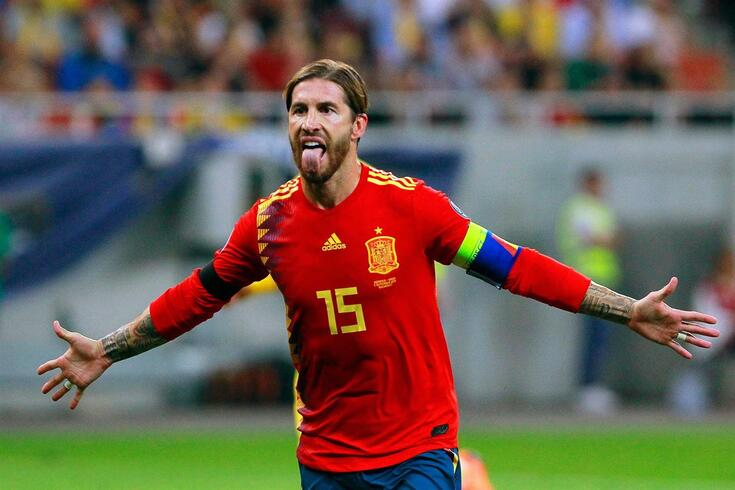 Sergio Ramos, capitão da seleção espanhola