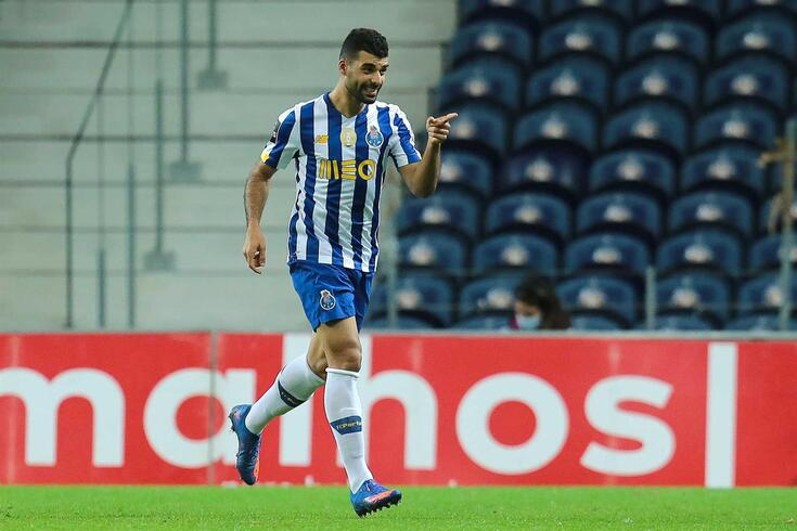 Taremi estreou-se a marcar pelo FC Porto frente ao Portimonense
