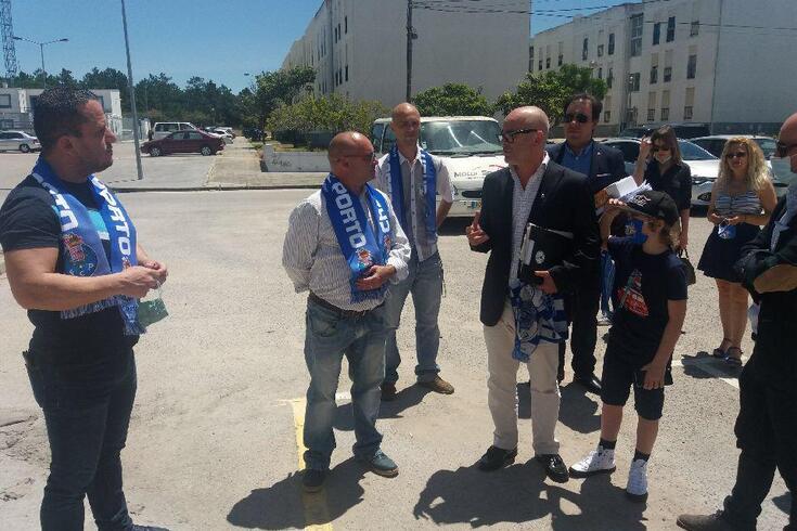Nuno Lobo visitou Casas do FC Porto em Santo André e Setúbal