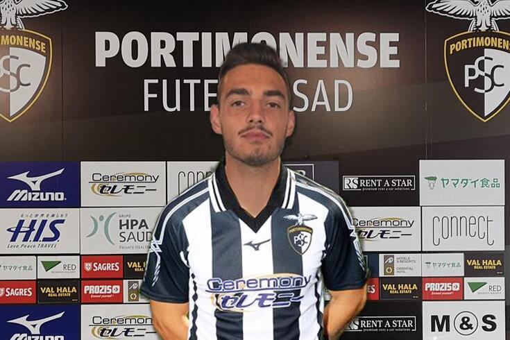 Jorge Vilela, jogador do Portimonense 2019/20