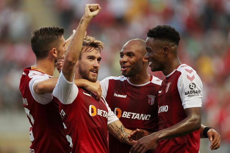Guimarães, 15/08/2019 - O Sporting Clube de Braga recebeu esta tarde o Brondby IF no Estádio Municipal