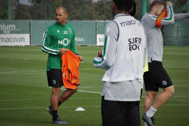 Borja recupera e está de regresso aos treinos do Sporting