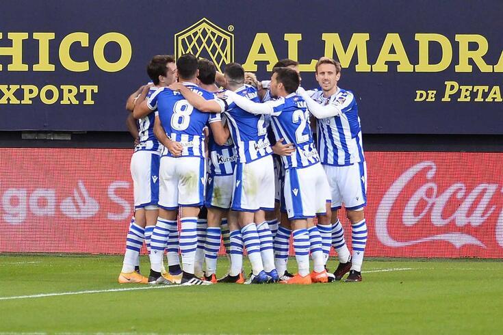 Real Sociedad é líder do campeonato espanhol