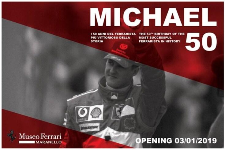 Museu Ferrari com exposição dedicada a Schumacher