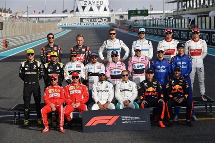 O Top 10 da F1... escolhido pelos pilotos