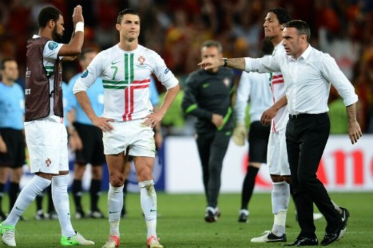 Terá sido Ronaldo a pedir para ser o último a marcar