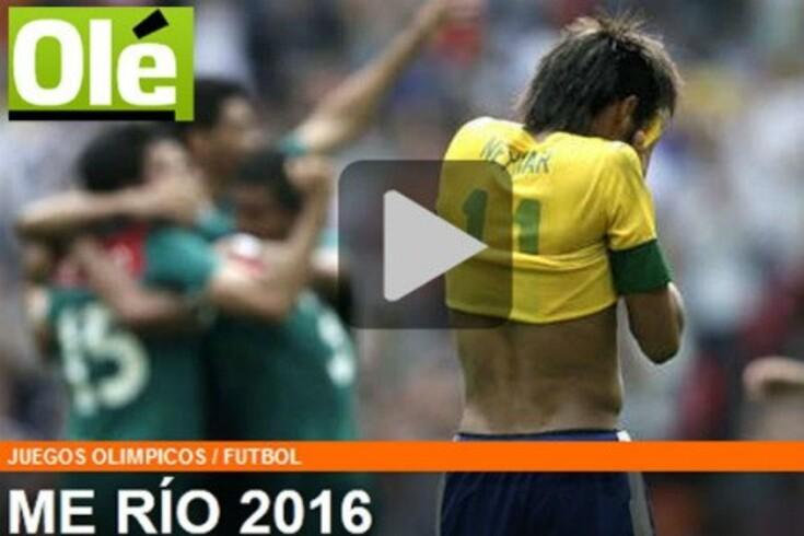 Humor argentino na derrota do Brasil