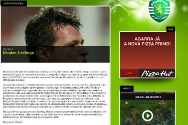 Oficial: Sporting anuncia Niculae