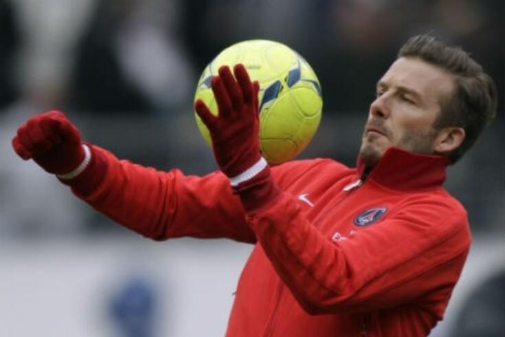 Beckham é o remédio para escândalo