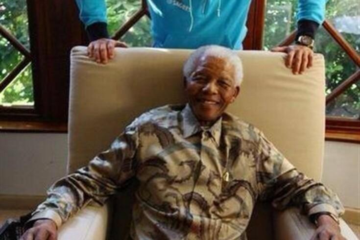 Ronaldo recorda o dia em que conheceu Nelson Mandela
