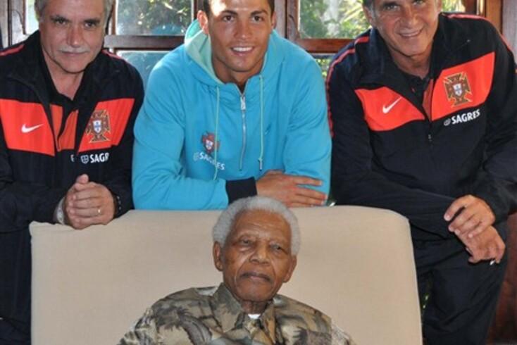 CR7 no diário da bisneta de Mandela