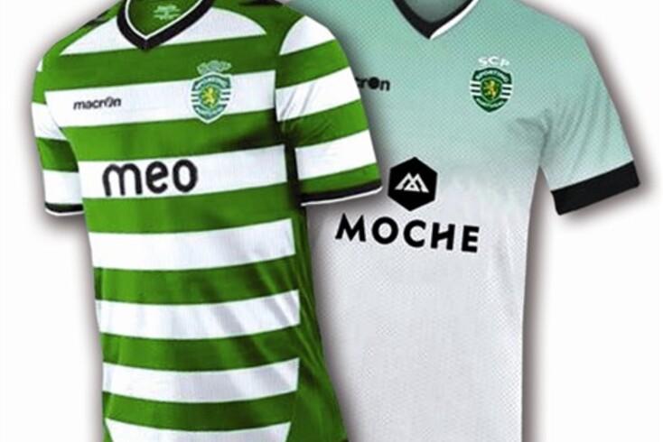 As novas camisolas do Sporting?