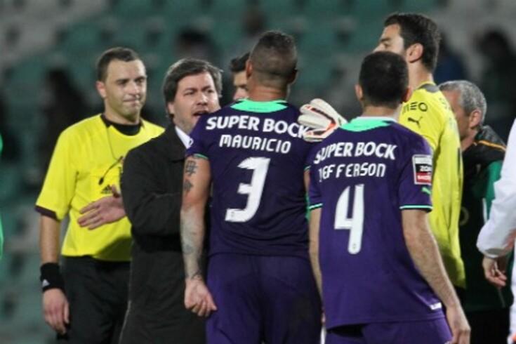 Sporting quer sentar árbitros no Tribunal