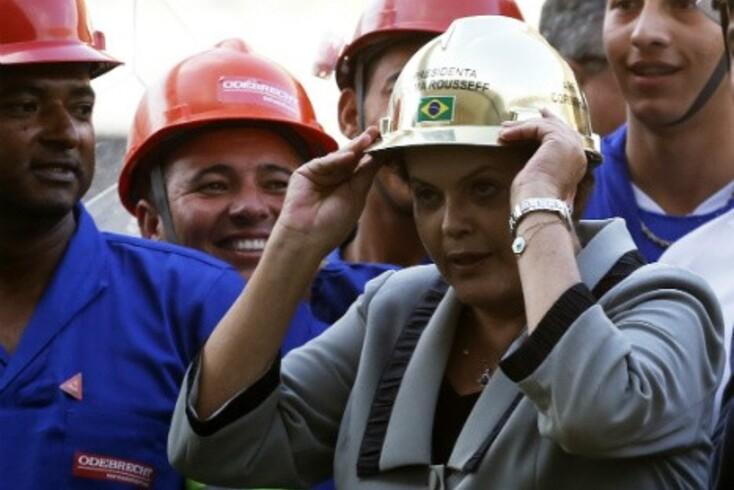 "Dilma Rousseff diz que o Brasil vai ""endoidar"""