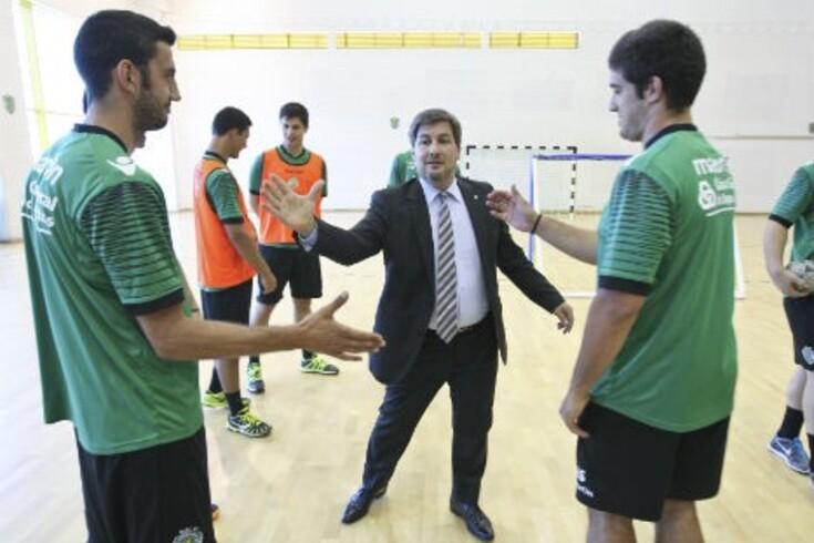 Bruno de Carvalho também falou de futebol na apresentação do andebol do Sporting