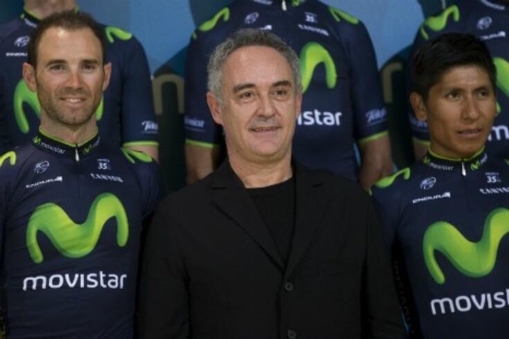 Ernesto Valverde (esquerda) e Nairo Quintana (direita) vão correr juntos o Tour e a Vuelta