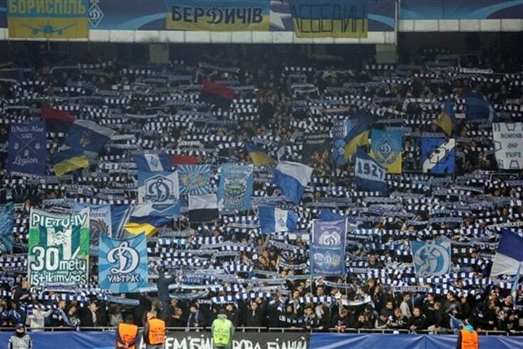 UEFA investiga racismo em jogos do Dínamo de Kiev