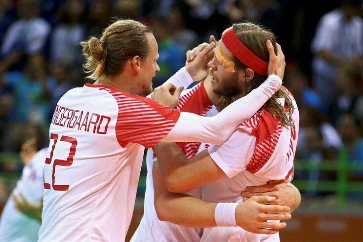 Dinamarca impede o tri da França no andebol