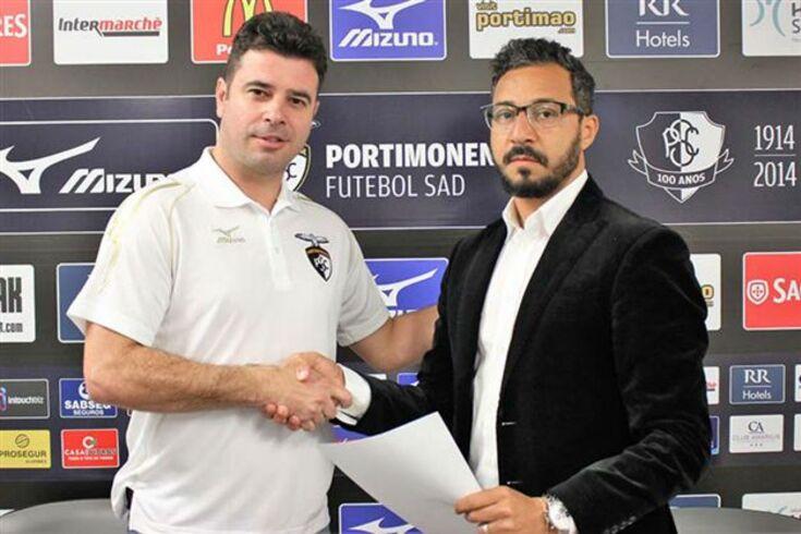 Robson Ponte passa a ser o diretor-técnico do Portimonense
