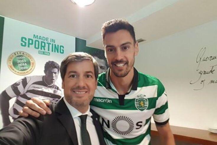 Acordo entre presidentes antecipa chegada de André Pinto ao Sporting