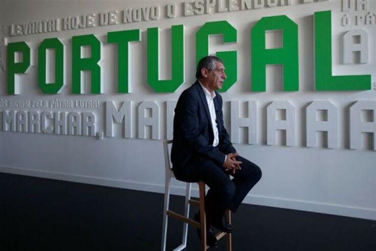 Fernando Santos, selecionador de Portugal