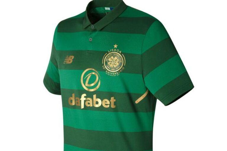 Equipamento alternativo do Celtic assinala 50 anos dos ″Leões de Lisboa″ 63fbb571536e6