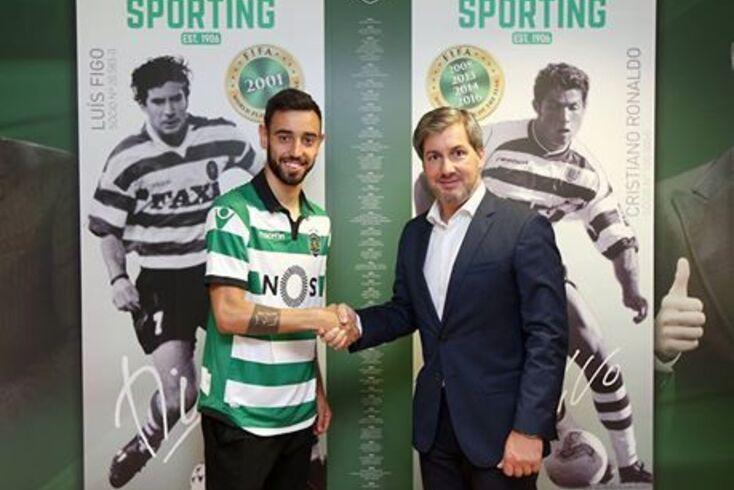 Oficial: Bruno Fernandes no Sporting com cláusula recorde