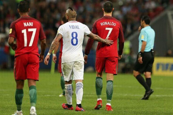 Vidal nega críticas a Ronaldo e até conta episódio com o filho