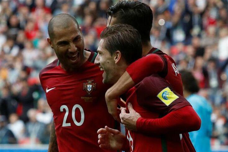Portugal dá a volta e é terceiro na Taça das Confederações