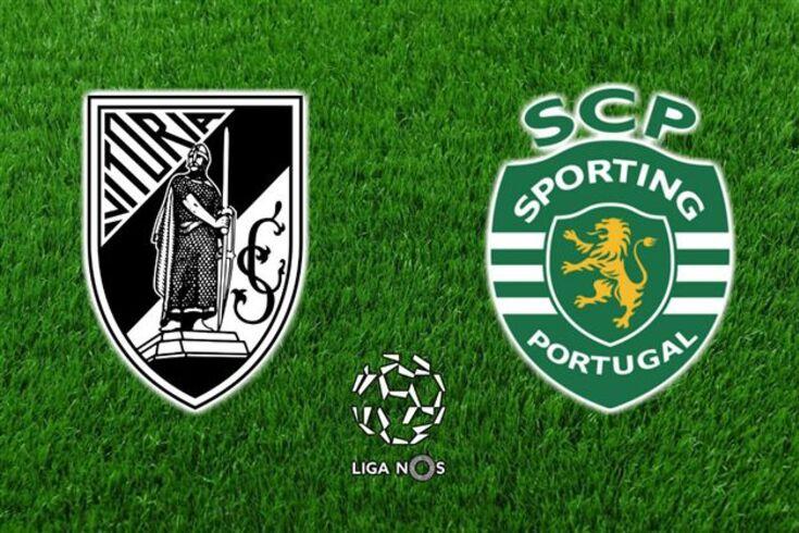 DIRETO | V.Guimarães-Sporting. Leão de mão cheia