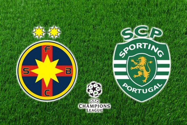 DIRETO | Sporting ainda chegou aos cinco em Bucareste