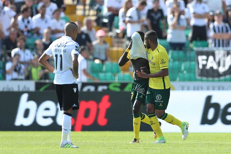 Paços de Ferreira 26/08/2017 - O Futebol Clube de Paços de Ferreira recebeu esta tarde o Vitória Sport
