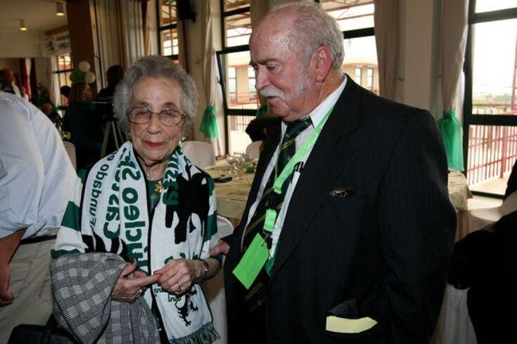 Maria Lourdes Borges de Castro em 2010 num encontro de núcleos