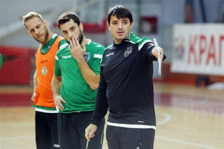Sporting oficializou esta sexta-feira a candidatura do Pavilhão João Rocha  para receber um dos grupos da Ronda de Elite da UEFA Futsal Cup. b50b1882bfc1e