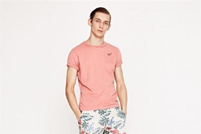 """86d76f510889b A marca britânica Pepe Jeans acabou de lançar uma nova coleção de verão com  o nome de """"Dive Into Heat"""". Com padrões tropicais, cores fortes e algumas  peças ..."""