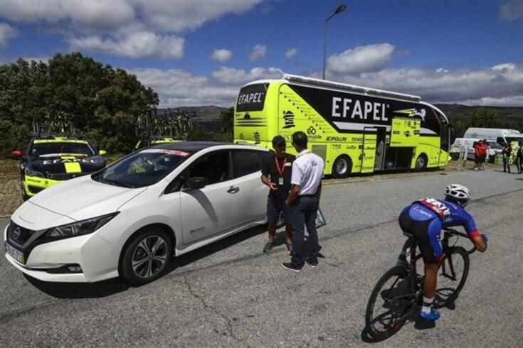 Nissan LEAF foi primeiro carro elétrico a completar Volta a Portugal em Bicicleta