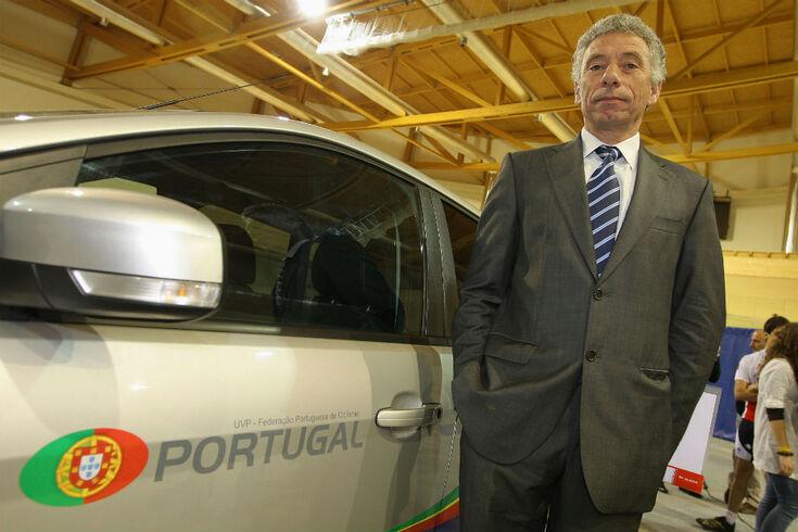 José Poeira, selecionador português de ciclismo