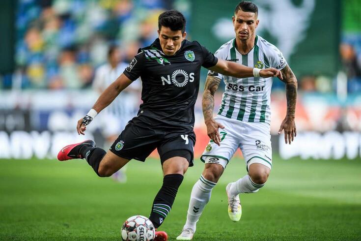Marcos Acuña tem sido apontado à porta de saída do Sporting