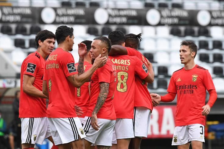 Benfica vai procurar festejar 22.ª vitória nesta edição do campeonato